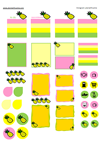 Plan with samia   Fall Stickers - Freebie Friday