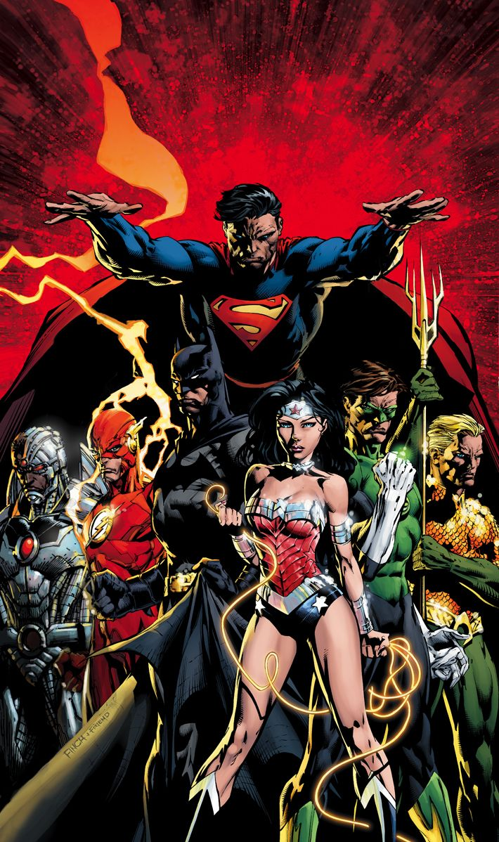 DC Comics New 52 Wallpaper