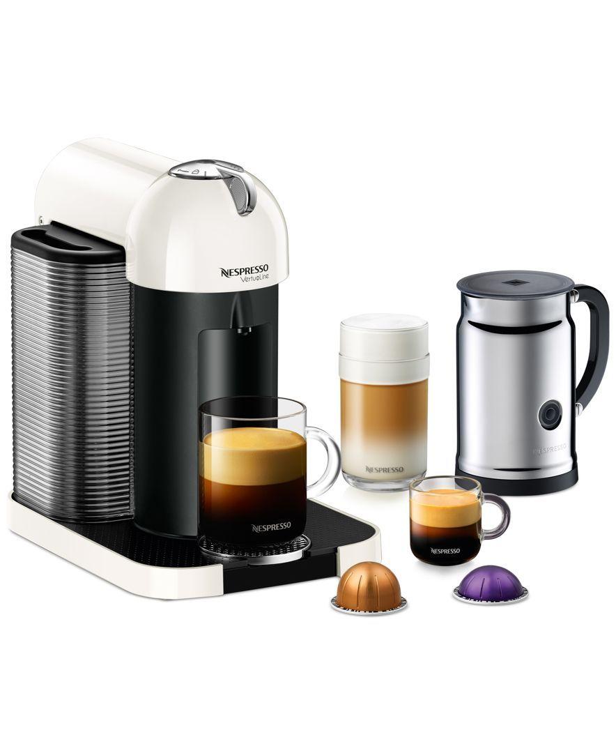 Nespresso Vertuoline Single Serve Brewer With Aerrocino Plus Milk
