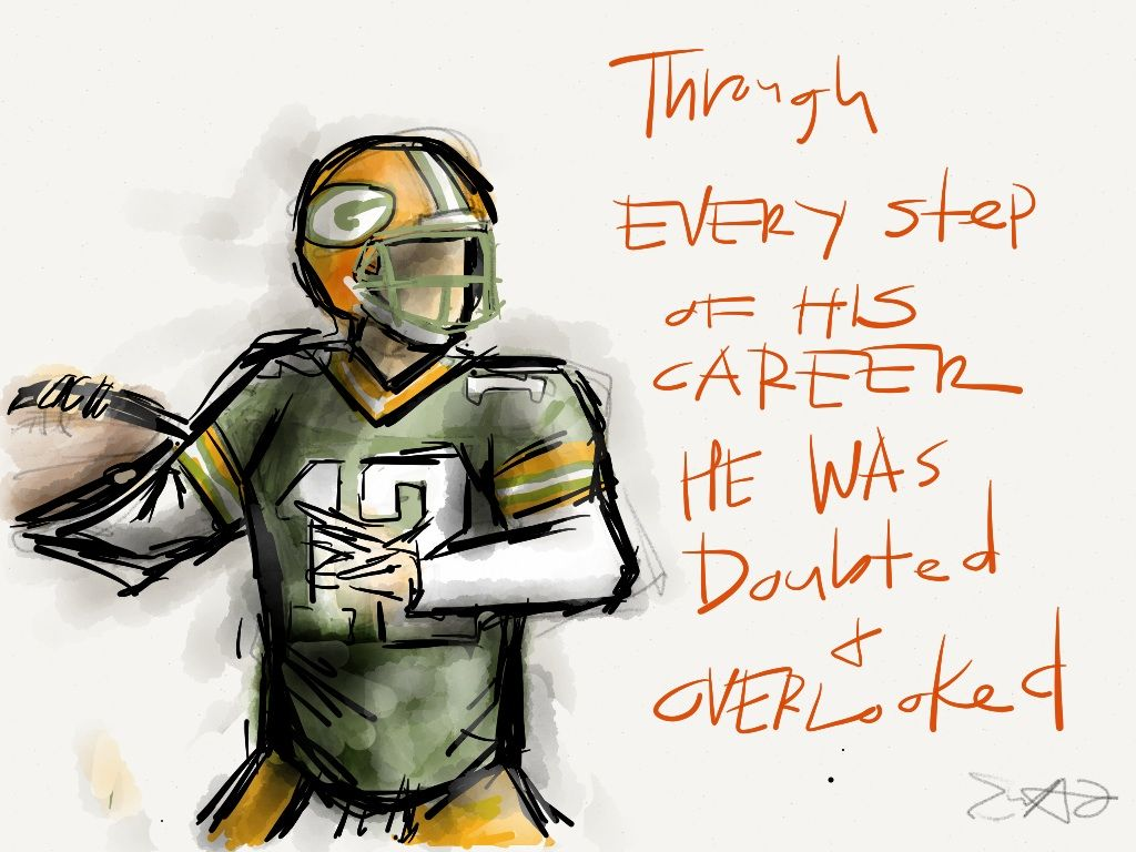 Aaron Rodgers Quote By Eric Acasio Green Bay Packers Packers Football Football Quotes