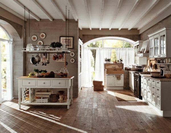 klassische-Vintage-Küche-Gaia-Berloni Küche Pinterest - k che auf franz sisch