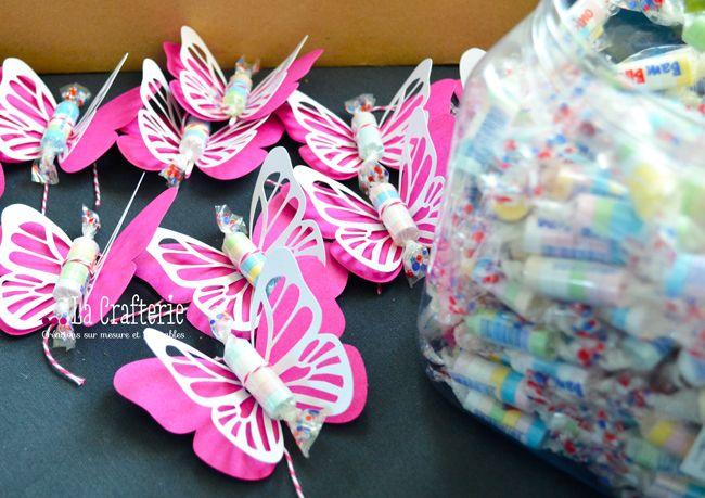 Sac bonbons anniversaire papillon6 scrap et autres - Sac bonbon anniversaire a fabriquer ...