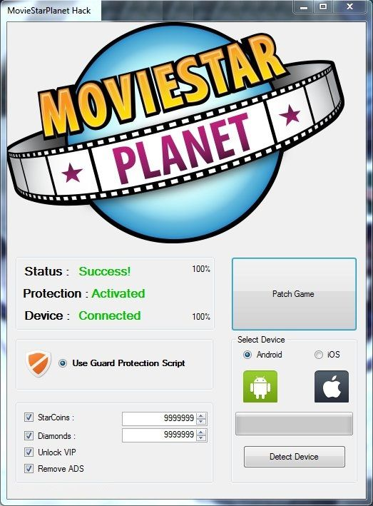 Movie Star Planet Hack Boost Starcoins Vip Diamonds Cheating Moviestarplanet Tool Hacks