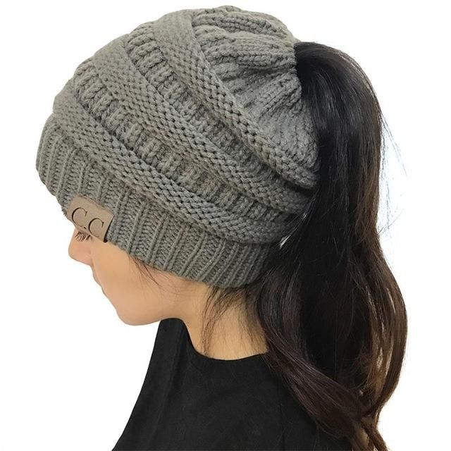 CC Beanies with Ponytail Hole  b0866ce02a59