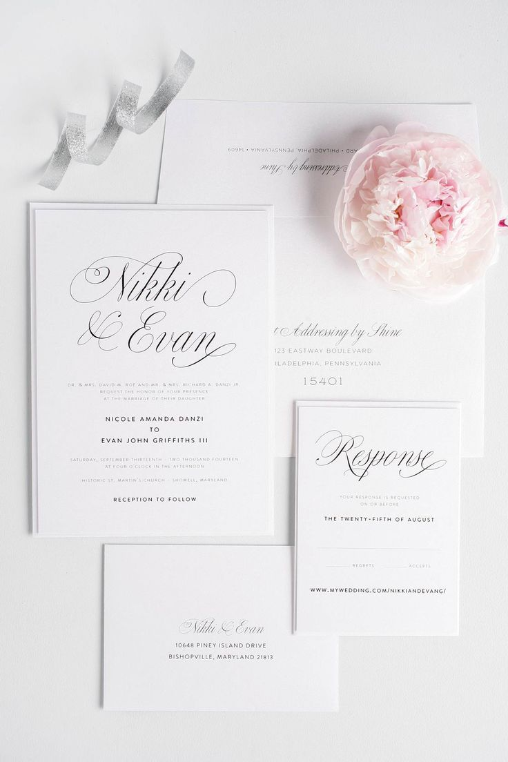 Amazing of Romantic Wedding Invitations 17 Best Ideas About Romantic