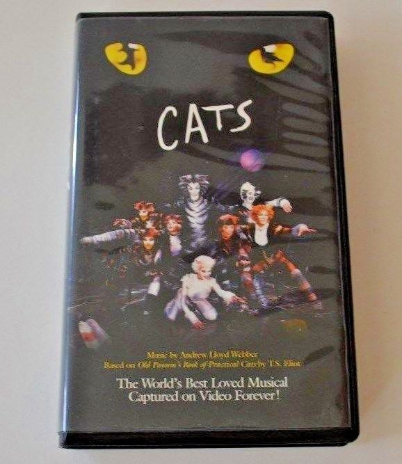 Details about Cats The Musical ( VHS, VCR 1998) Movie