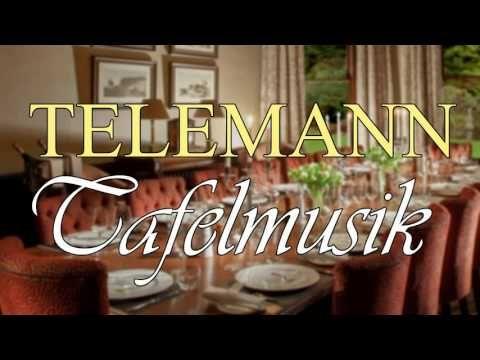 Telemann - Tafelmusik / Musique de table