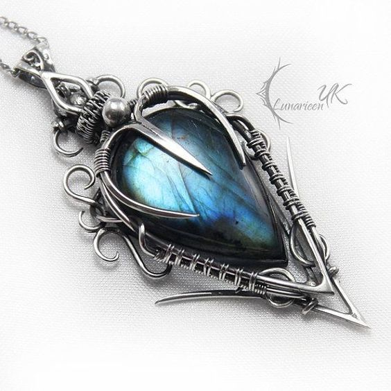 a beautiful amulet | fantasy fashion and accessories | Pinterest ...