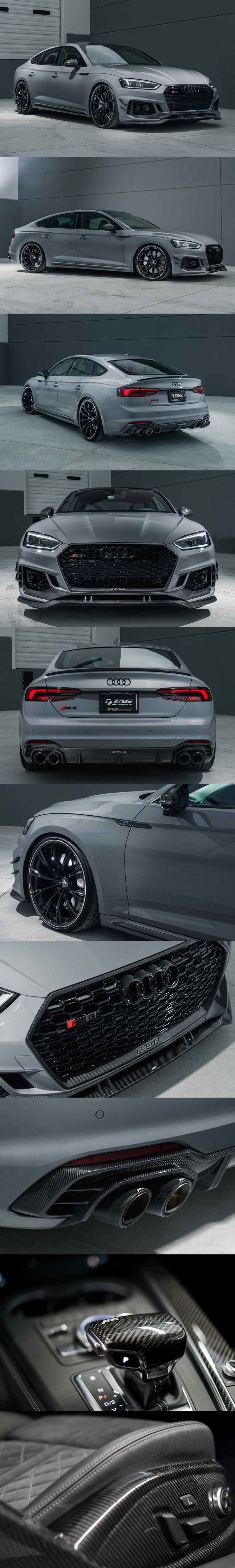 ABT Bringing 503-HP Audi RS 5 Sportback To America. The Bavarian tuners also have a thing for carbon fiber. #audivehicles