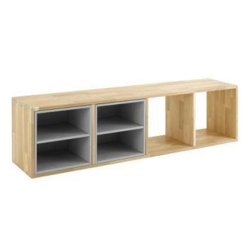 Oko 2 tag re 4 cases niches gris salon pinterest mobilier de salon meuble biblioth que - Meuble case pas cher ...