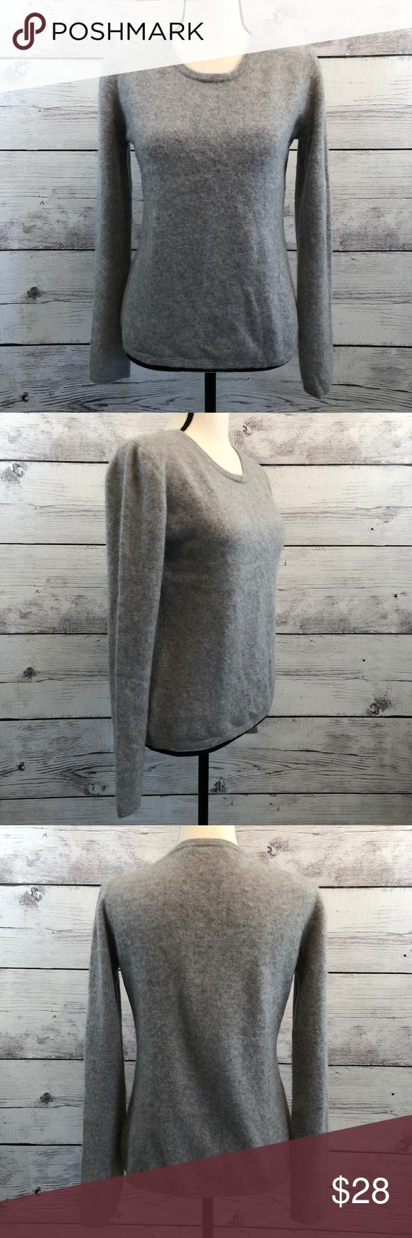 Preswick & Moore Womens Cashmere Sweater Large Preswick