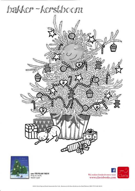 Grote Kleurplaten Kerstboom.De Kleine Kerstboom Ruth Wielockx Een Warm Kerstverhaal