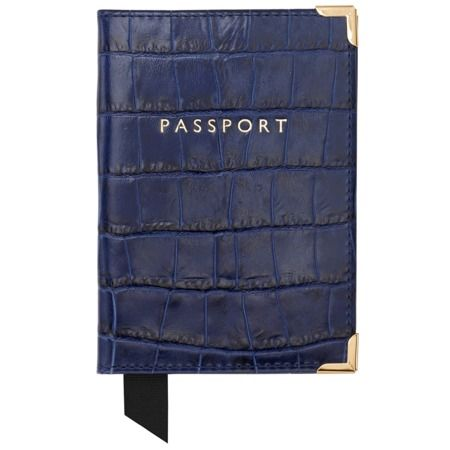 Passport cover; COMPLEMENTARY PERSONALISATION OF INITIALS Awarded