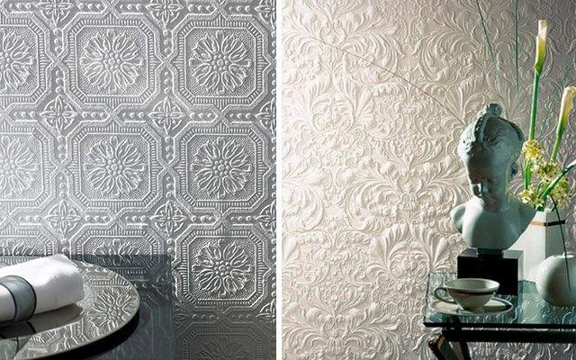 Ideas para decorar con papel pintado en 3d 640 400 - Decorar papel pintado ...