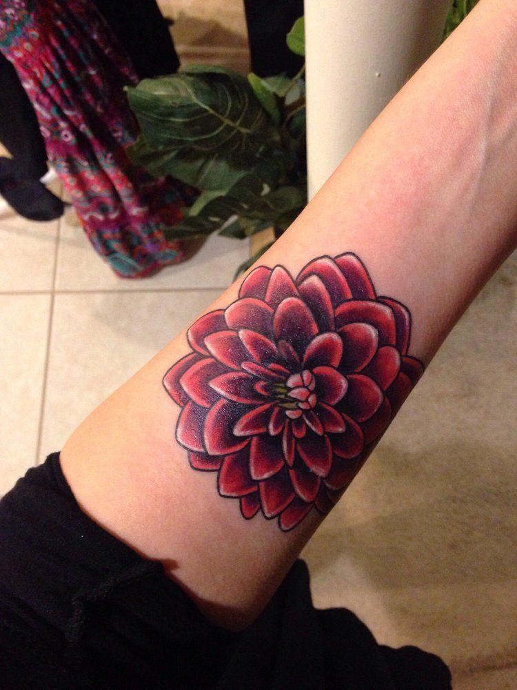 503 Service Unavailable Tattoos Dahlia Tattoo Dahlia Flower Tattoos