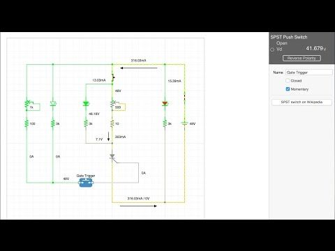 SCR Powerblock Tester Circuit Diagram (With images