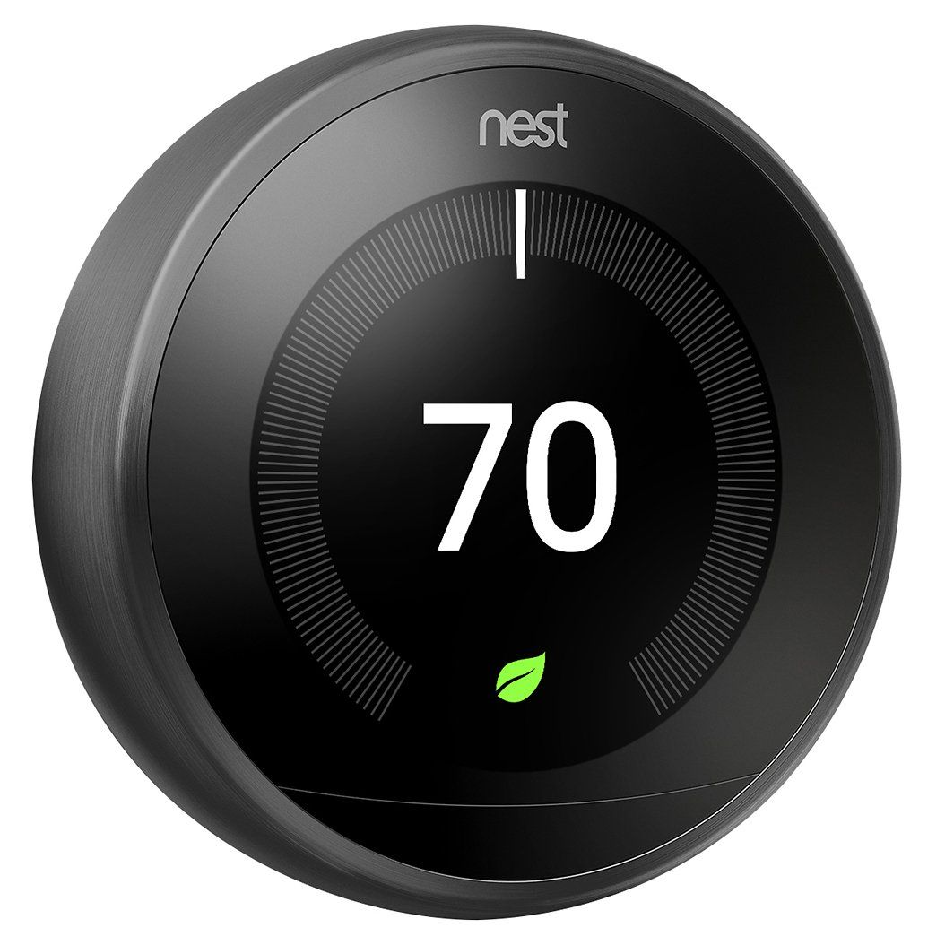 Google Nest Learning Thermostat 3rd Generation Stainless
