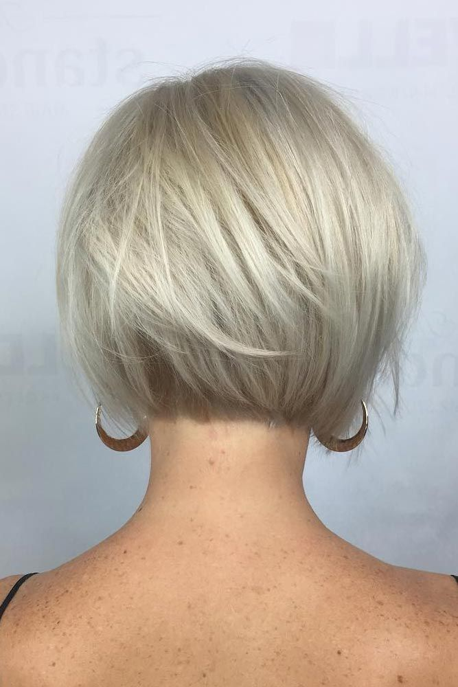 Layered Short Bob Hairstyles For Women Over 50s Pictures Update Your Look With Short Hairstyles At Be Medium Length Hair Styles Medium Hair Styles Hair Styles