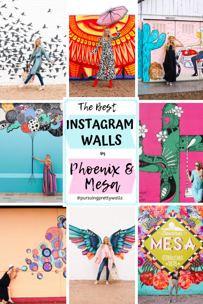 Instagrammable Walls In Phoenix And Mesa Arizona Pursuing Pretty Instagram Wall Arizona Photography Instagram Worthy