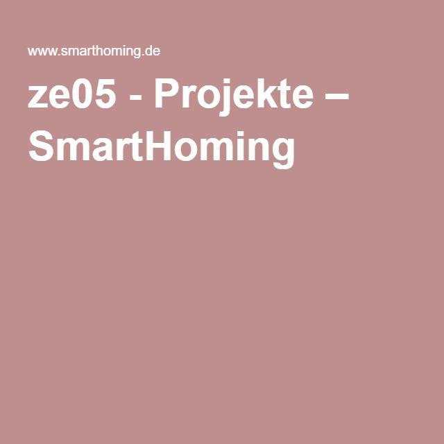 ze05 - Projekte – SmartHoming