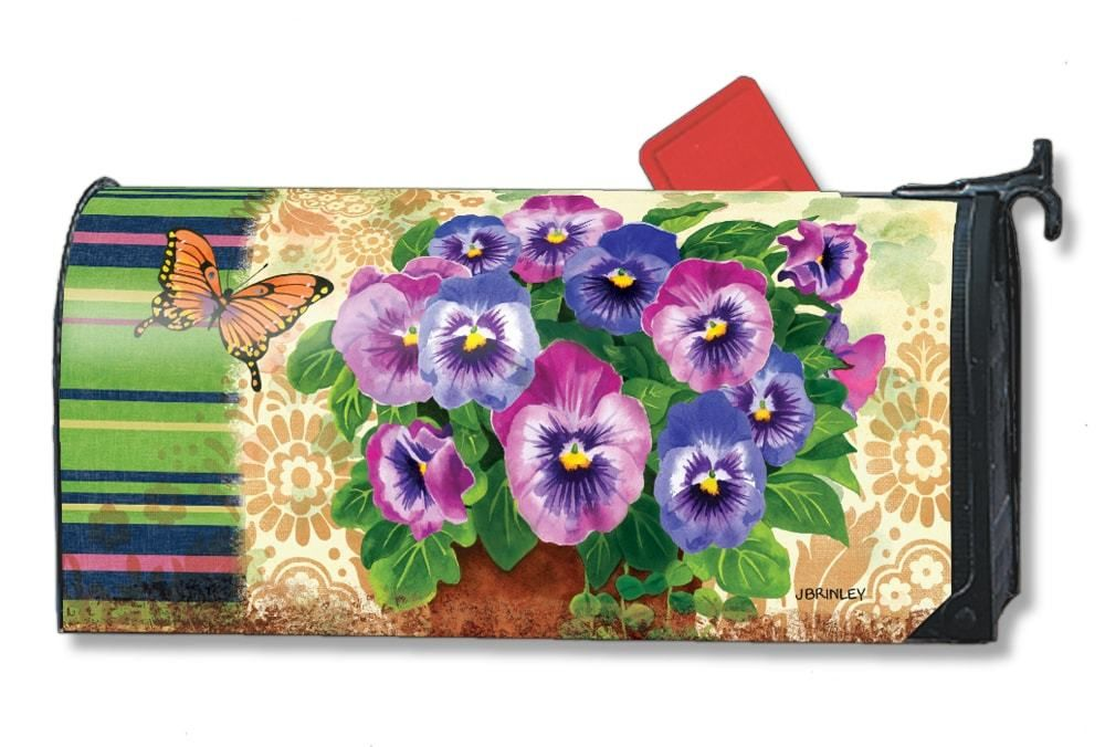 Spring Magnetic Mailbox Covers By Mailwraps Are Unique Colorful