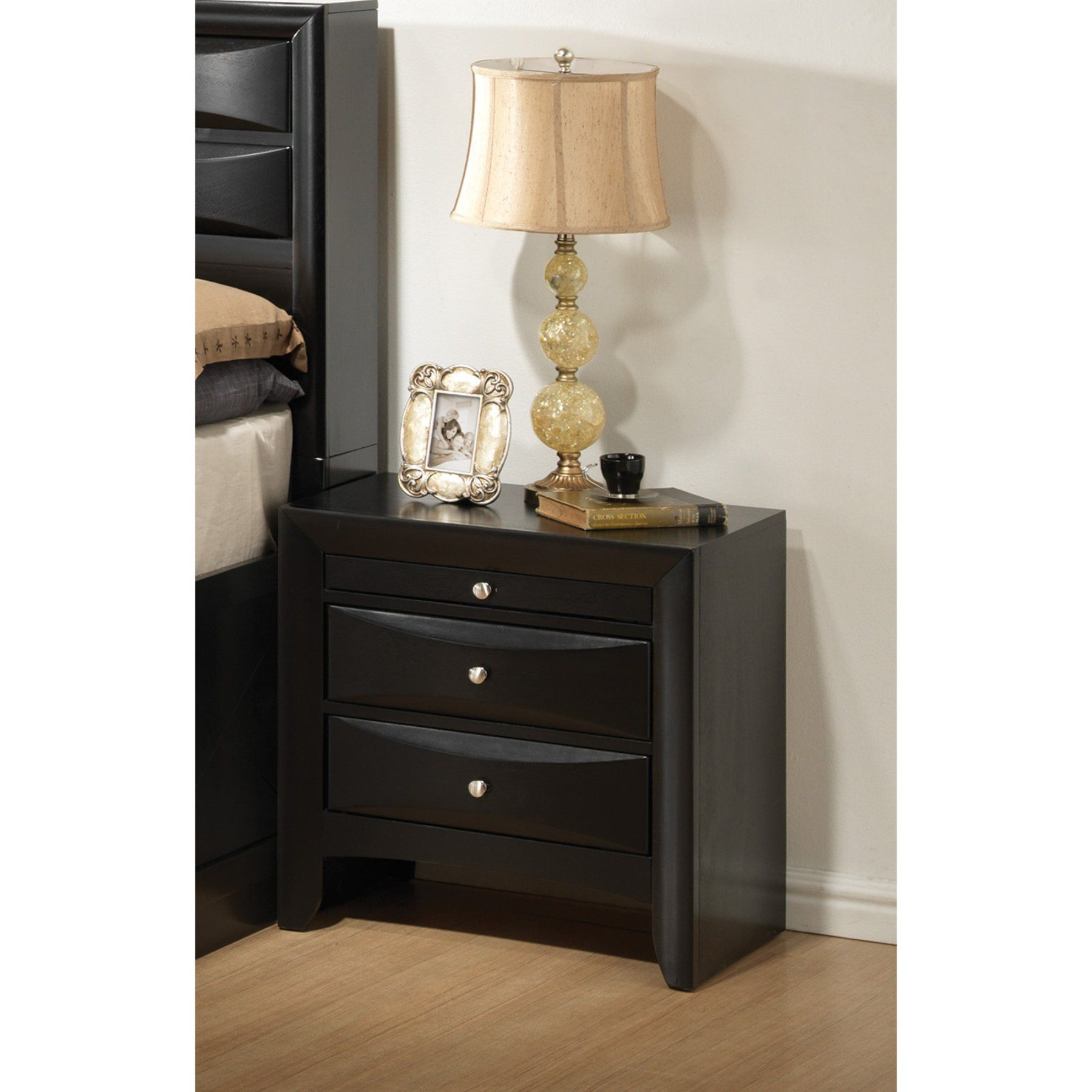 Coaster furniture briana drawer nightstand coasters and