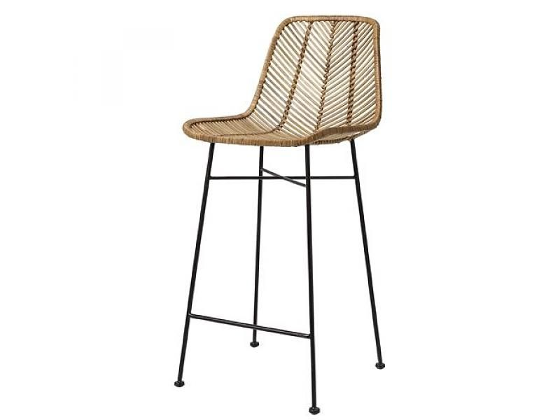 Bloomingville Rotan Barstool Chair Natural