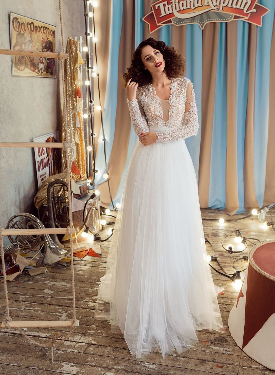 Shanna Wedding Dress By Legendary Designer Tatiana Kaplun Only At Charme Gaby Bridal Gown Boutique Cle Wedding Dresses Flower Girl Dresses Best Wedding Dresses