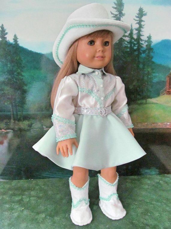 1950 cowgirl kost m dale evans halloween kost m von fashioned4you puppen puppen barbie und. Black Bedroom Furniture Sets. Home Design Ideas