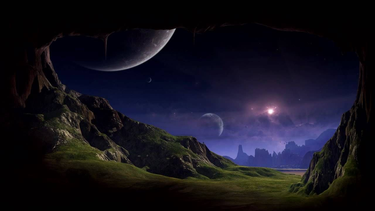 Stoneface And Terminal Stardust Club Mix Hd Trance Fantasy Landscape Planets Wallpaper Alien Worlds