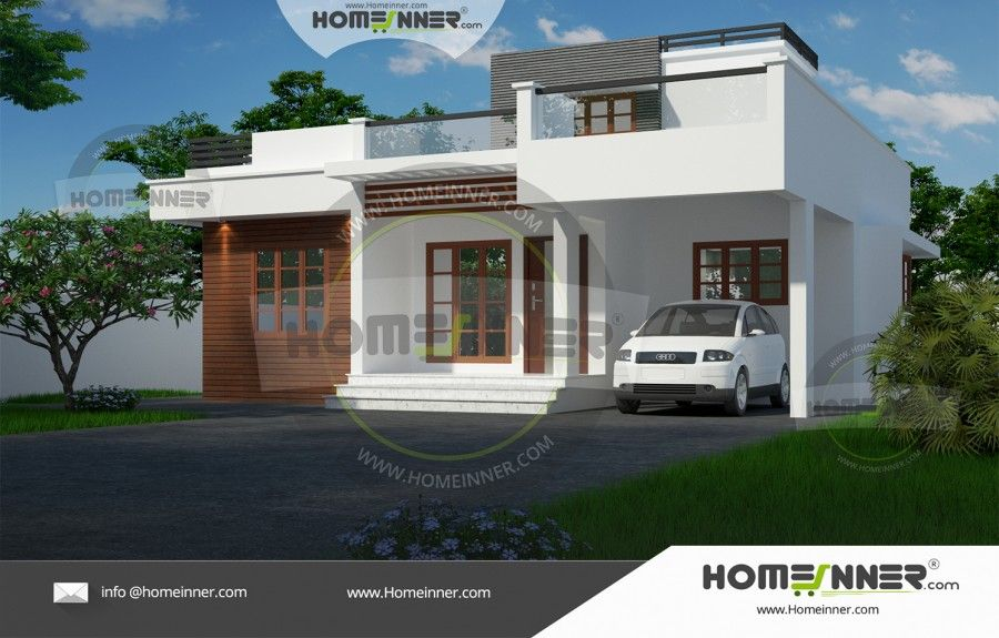 1000 sq ft cost effective house plans in kerala for Cost effective house plans