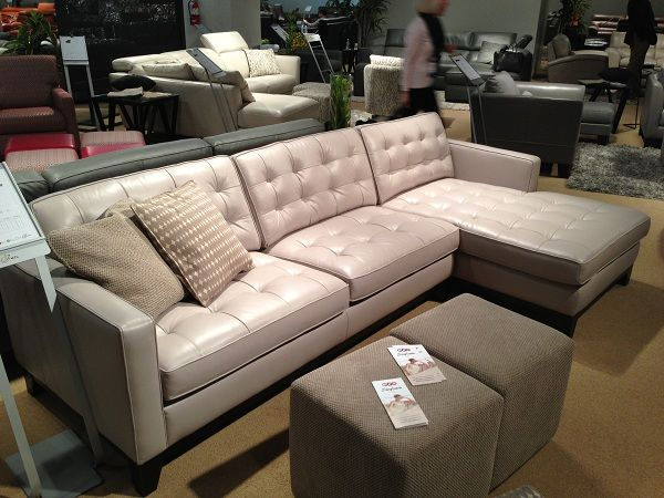 Great leather sectional by HTL Furniture. // www ...