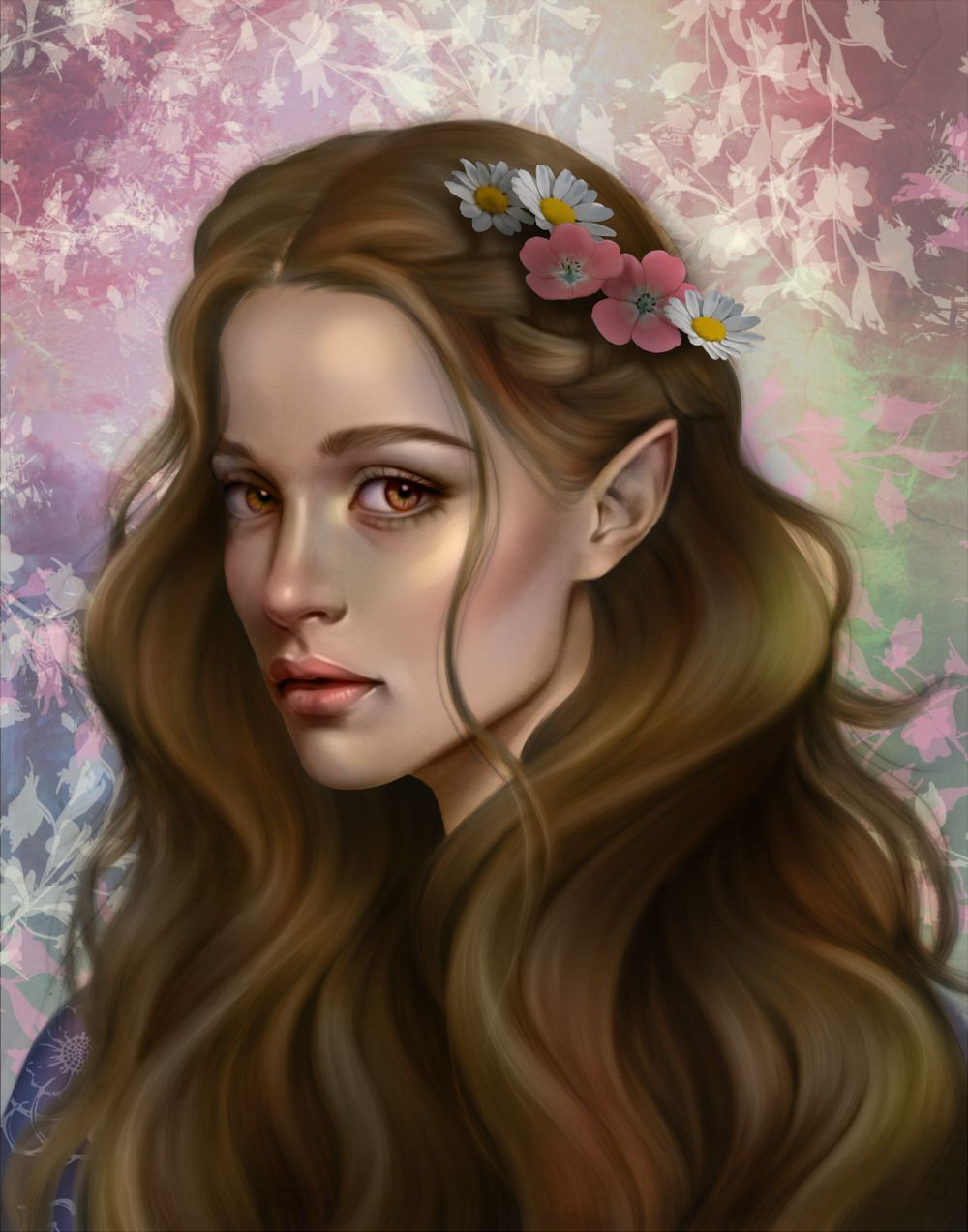 Painted Elain From A Court Of Thorns And Roses Hope You Guys Will