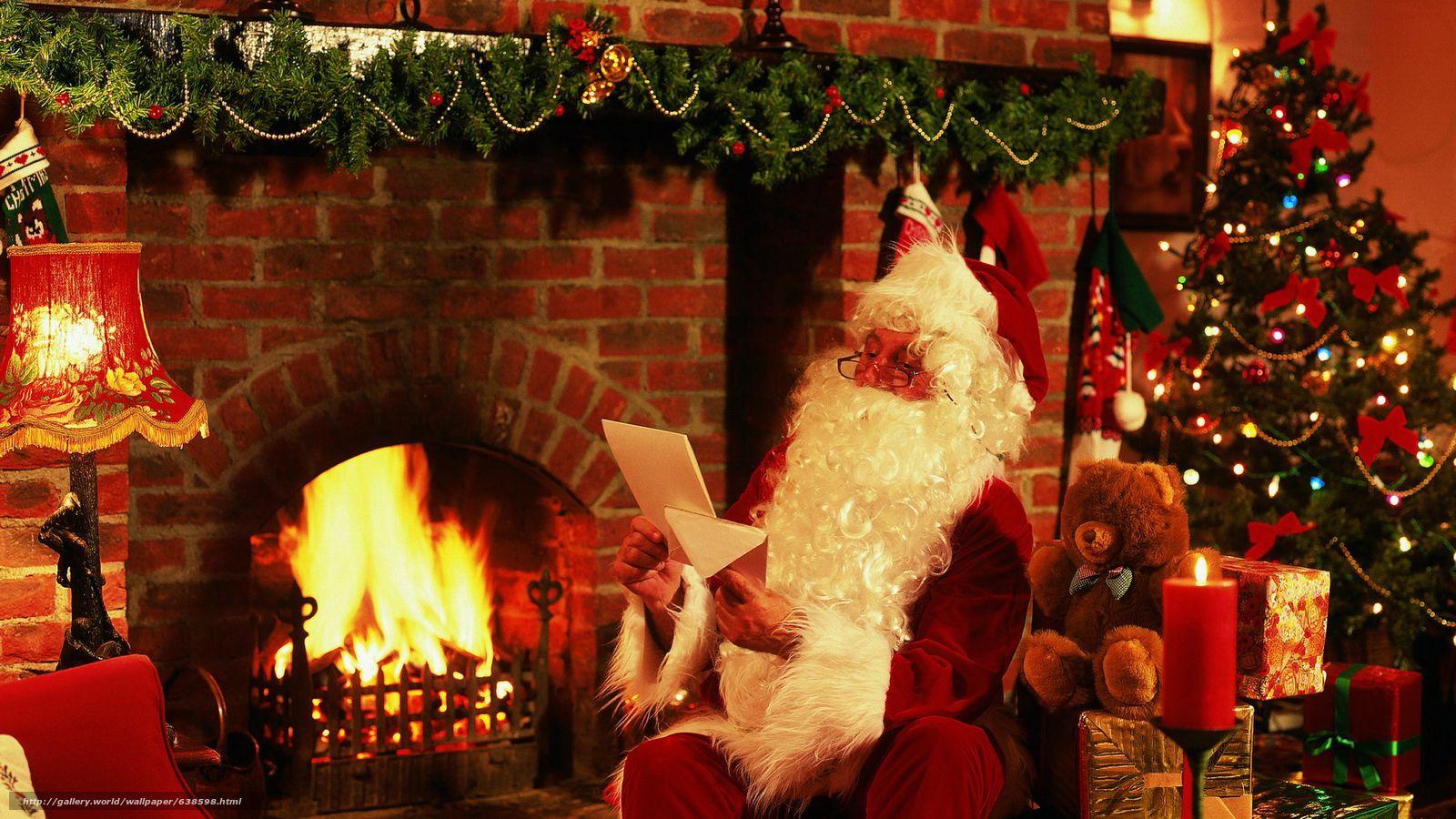 Tlcharger Fond d'ecran Père Noël, Père Noël, Nouvelle