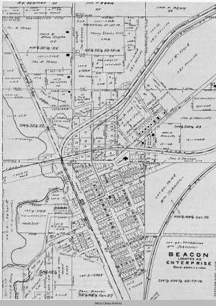 Beacon Ia Garfield Township Mahaska County Iowa Mahaska