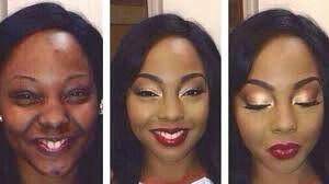 black girl makeup transformation | black girl makeup