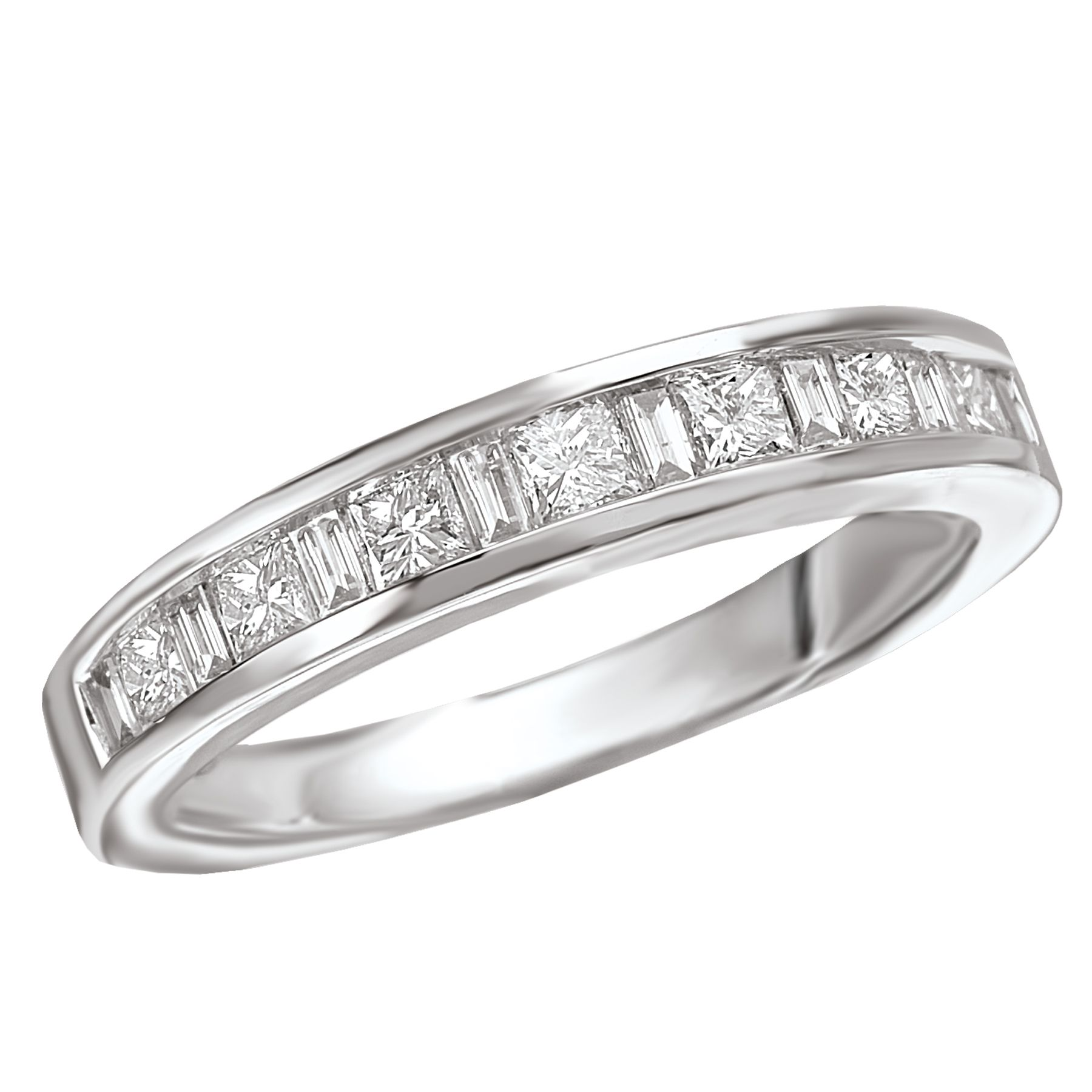 milgrain product charlotte blue bands kirk kara anniversary sapphire and platinum diamond wedding baguette band