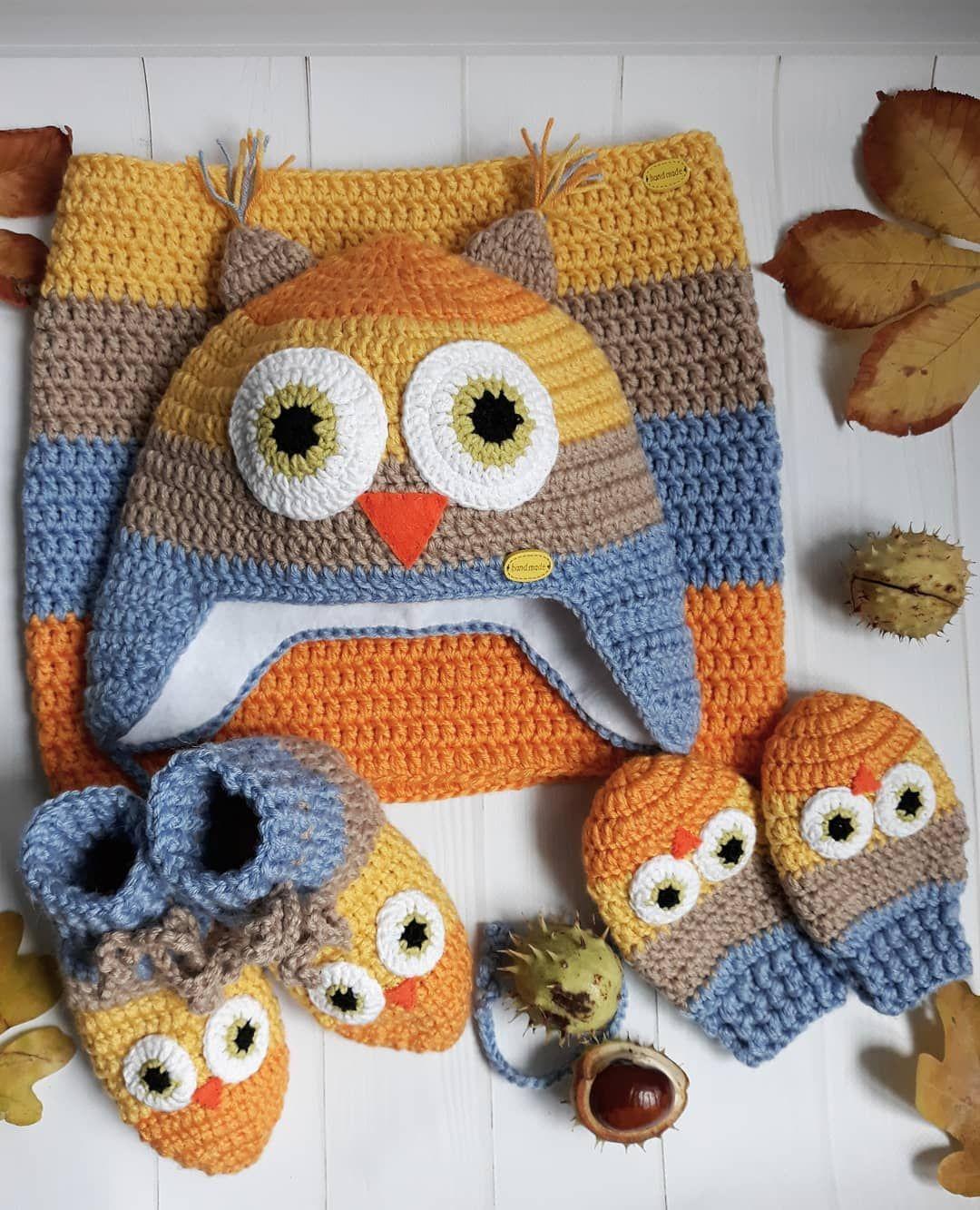crochet owl baby hat owl lytovchenko workshop pinterest
