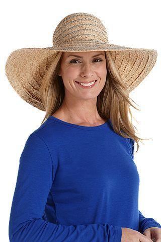 fdd3d93267eaba Raffia Sun Hat: Sun Protective Clothing - Coolibar | Hats to protect ...