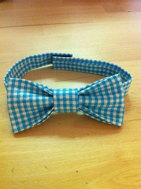 No sew bow tie. Frances is so smart!   Kid\'s Stuff   Pinterest ...