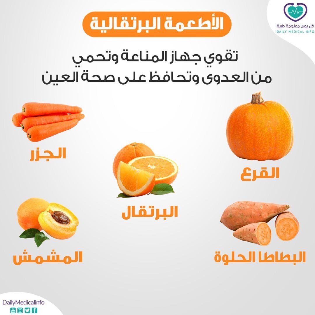 الأطعمة البرتقالية Health Facts Food Healthy Detox Healthy Herbs
