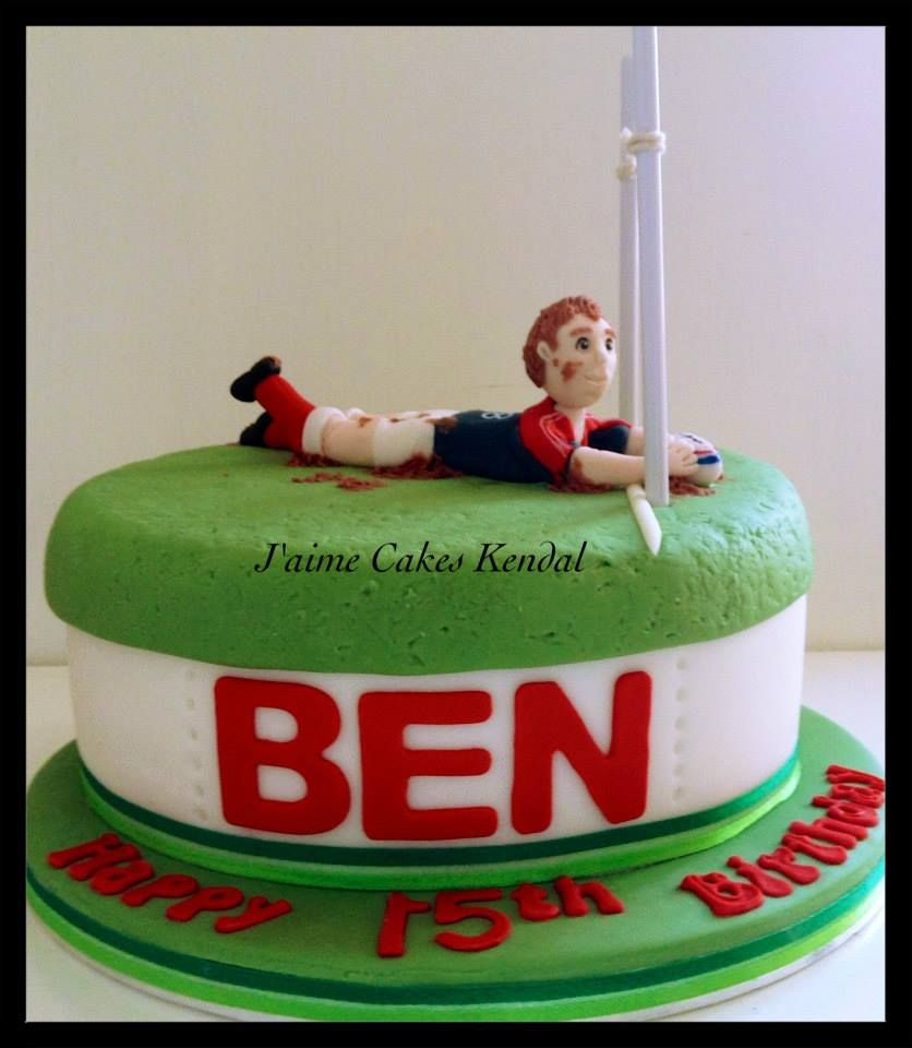 Rugby Cake Rugby cake, Cake, Desserts