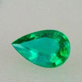 1.35ct Pear Cut Zambian Emerald $2,430.00