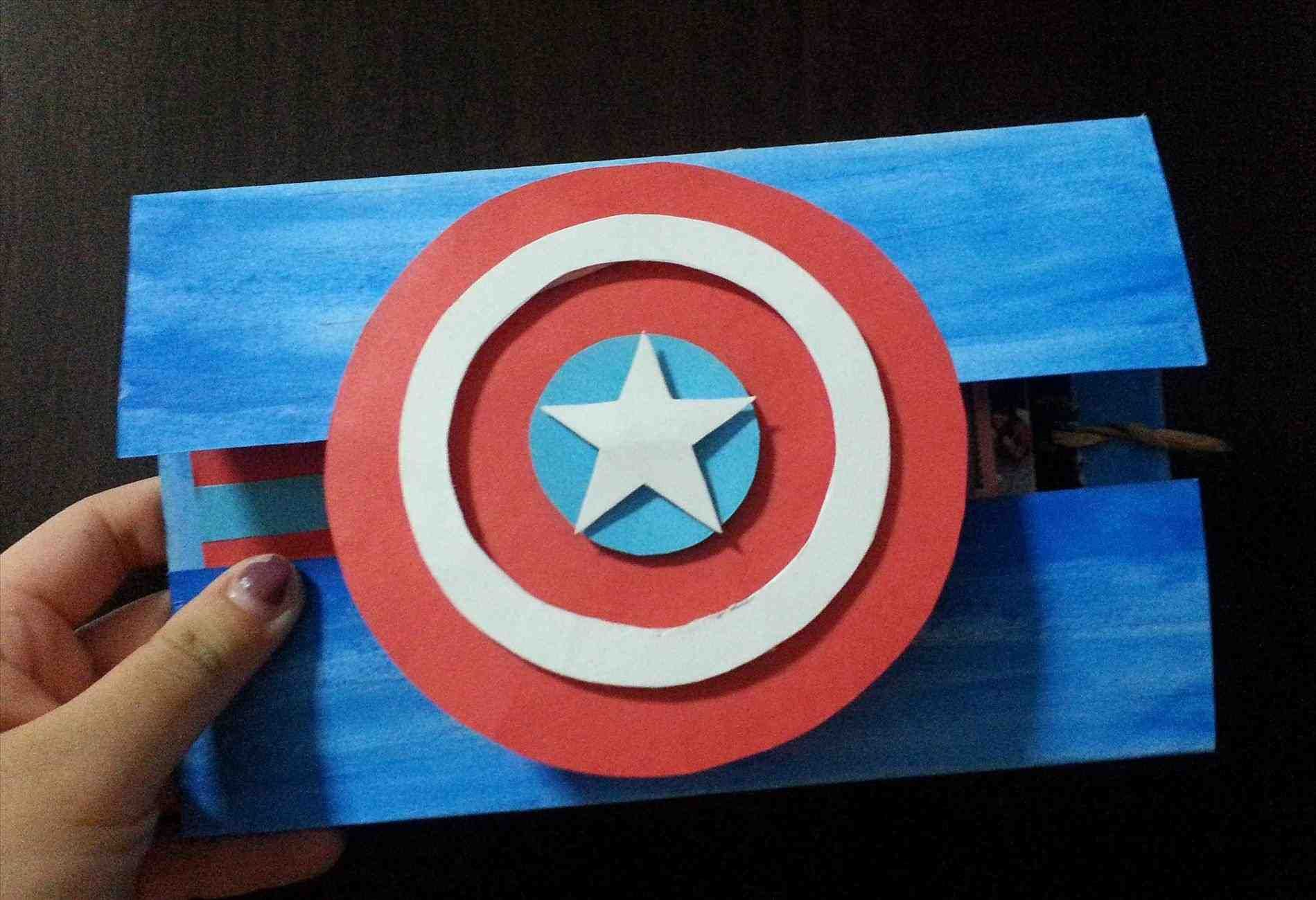 Designpersonalised Captain America Birthday Cards With Card Printable In Conjunction