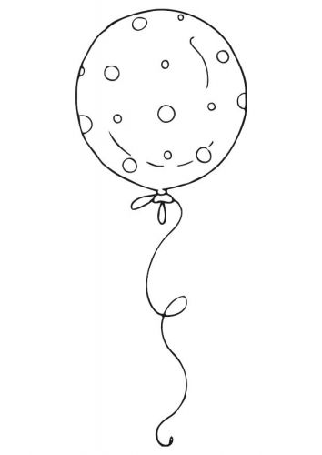 Coloring Page Balloon Img 12538 Birthday Coloring Pages Coloring Pages Balloons
