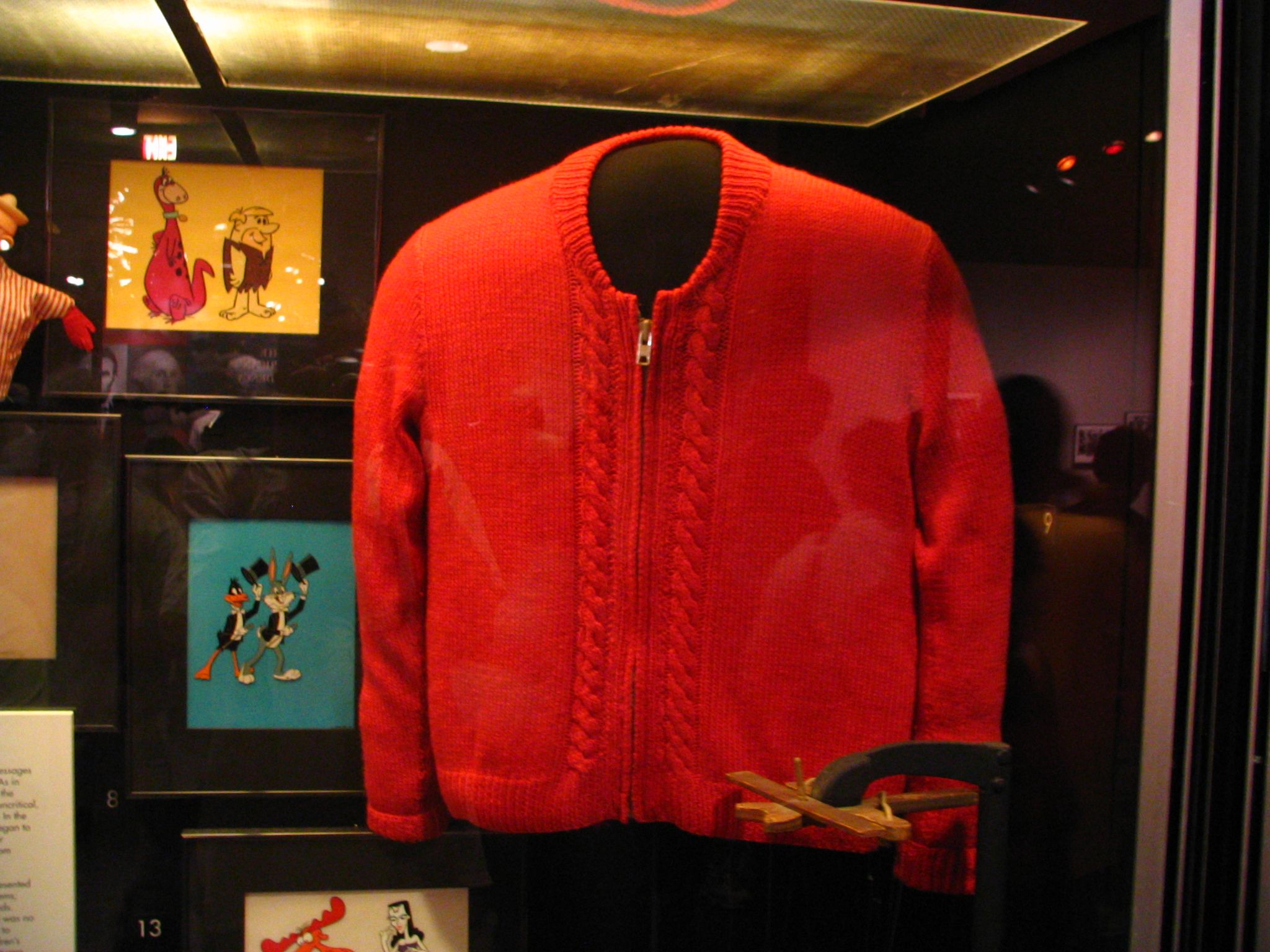 Mister Rogers Sweater On Display At The Smithsonian Mr Rogers Fred Rogers Mister Rogers Neighborhood