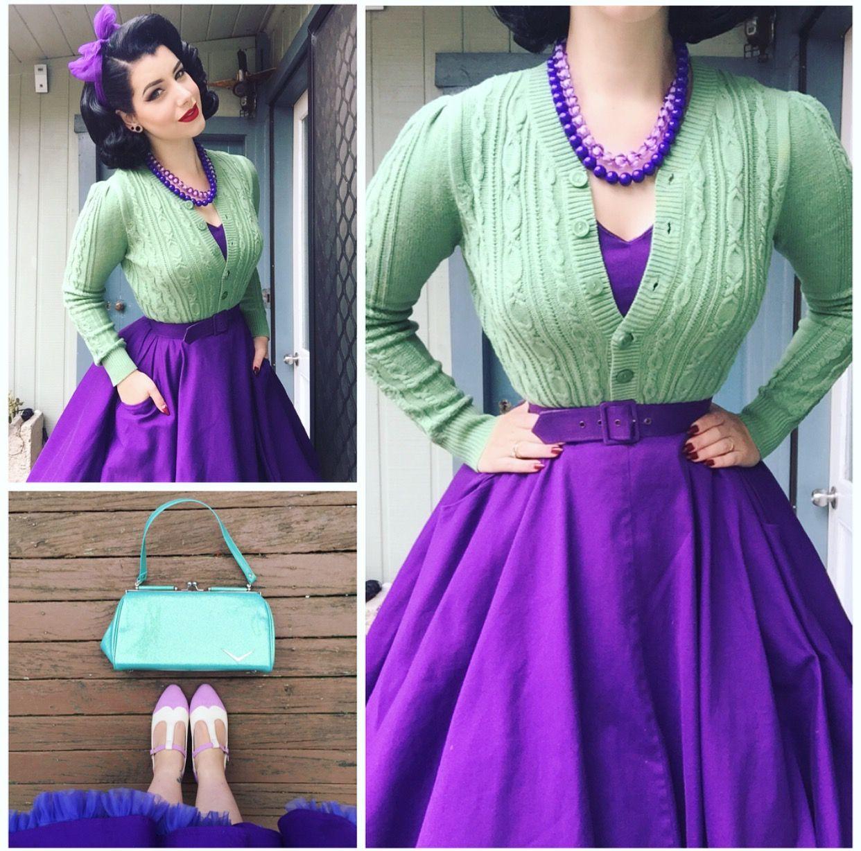 Miss Victory Violet | Colors | Pinterest | Moda retro, Ropa de los ...