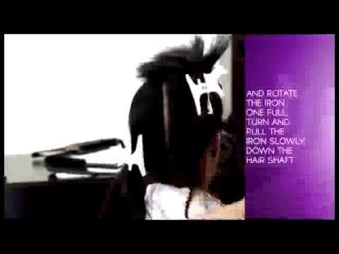 Roller set tutorial:Natural Hair 1960s Flip Hairstyle | Hairstyles Tutorial