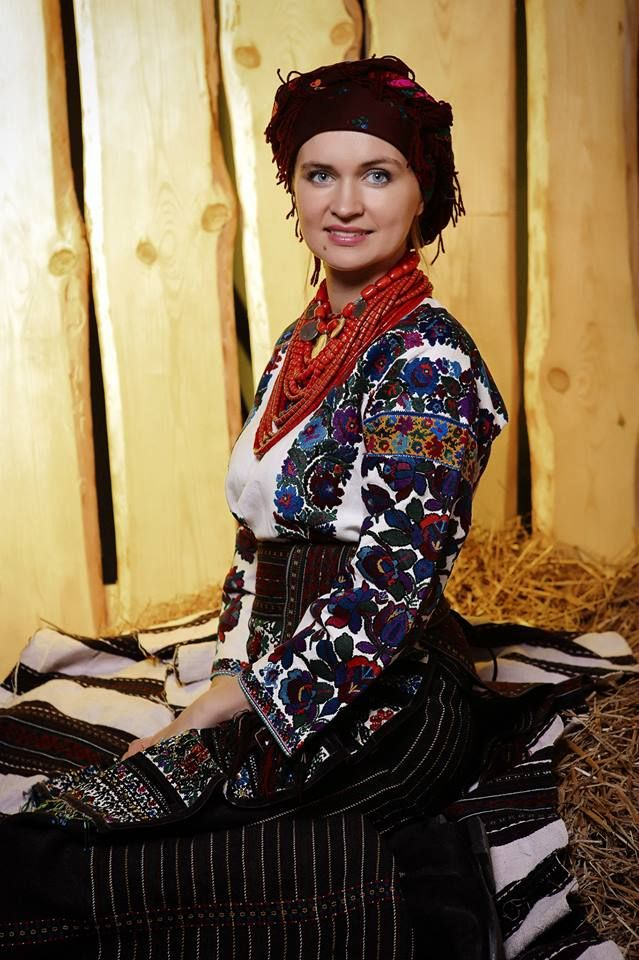 Ukrainian national costumes