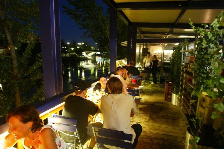 Menu - Kategorie: Summerstage Pavillon